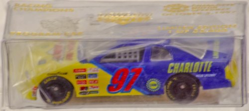 (1997 - Racing Champions - Program Car - NASCAR - UAW-GM Quality 500 - Chevy Monte Carlo - Charlotte Motor Speedway / Oct 5 , 1997 - 1 of 33,400 - New - Rare - Mint - Collectible)