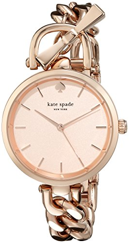 kate spade new york Womens 1YRU0814 Holland Rose Gold-Tone Watch