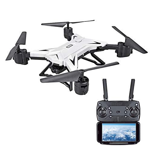 RaiFu ドローン KY601S RC ヘリコプター 広角HDカメラ付き 1080P WIFI FPV 折りたたみ式 クレード 超安定 超頑丈 高度維持 300 000 WIFI リアル タイム 航空写真 - 白