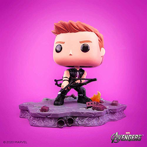 Multicolor Funko Pop Marvel: Avengers Assemble Series Hawkeye Exclusive Figure 3 of 6 Deluxe