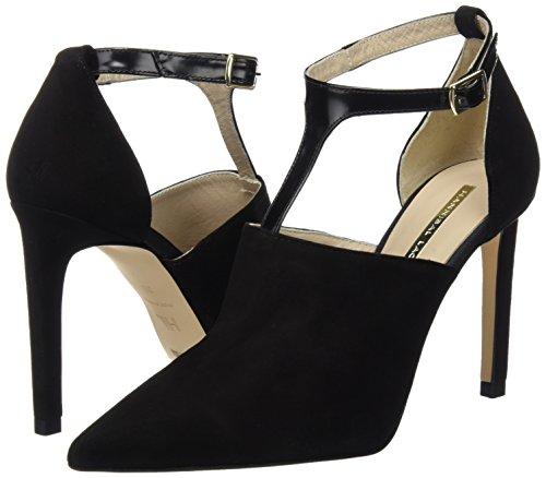 Zapatos Laguna Hannibal Danubio Negro De Tacón Mujer Negro ante Cora EHwOCwxdq