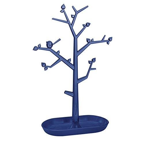 Koziol [Pip L - Árbol de Navidad (Terciopelo Transparente/Profundo), Color Azul