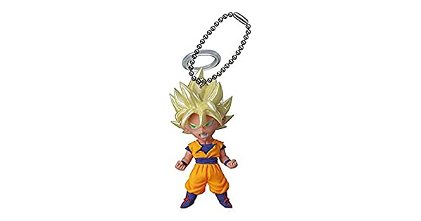 Amazon.com: Dragon Ball Z UDM Burst 06 Llavero – Son Goku ...