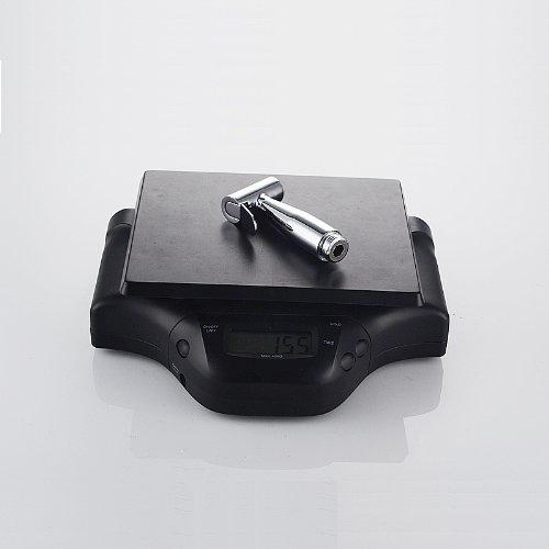 XVL Solid Brass Toilet Handheld Bidet Sprayer with Shower Hosem, Holder and Shut Off Valve P04d chic
