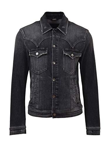 Dolce e Gabbana Men's G9gr0dg8t33s9001 Black Cotton Jacket Dolce & Gabbana Cotton Coat