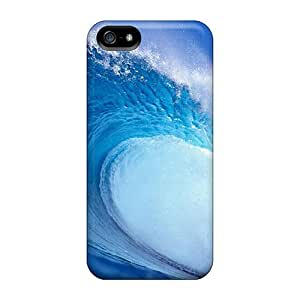 AnnetteL Design High Quality Wave Cover Case With Excellent Style For Iphone 5/5s