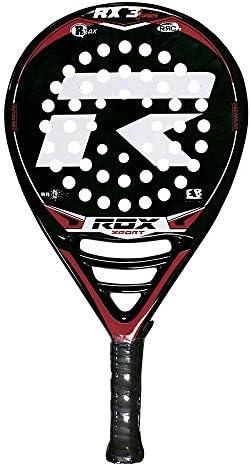 ROX SPORT, Raqueta de Padel RX3 Junior, Negro/Rojo: Amazon.es ...