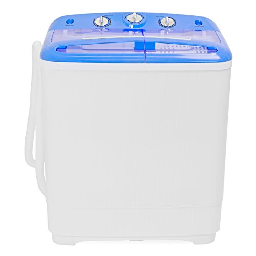 Electric Mini Washer and Spin Cycle Portable Compact Washing Machine, 8 Lbs Capacity, 110Volt /60Hz, 280W Input Power