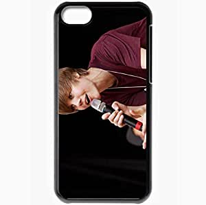 diy phone casePersonalized iphone 6 4.7 inch Cell phone Case/Cover Skin Justin bieber singing singer microphone Music Blackdiy phone case