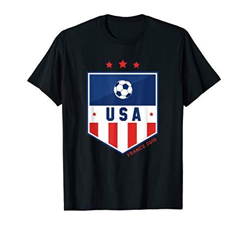 USA | Women Soccer | France 2019 |  - United States T-shirt Soccer