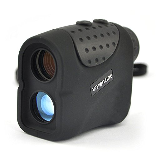 Visionking Range Finder 6x21 built-in USB rechargeable lithium battery Laser Rangefinder with Hunting Golf Rain Mode 1000m New (Black) by Visionking