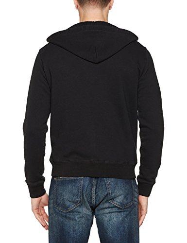 Sw Men's Sweat Schott Black Hooded Nyc Shirt qEwfHU
