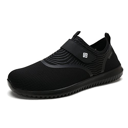 DREAM PAIRS Women's C0210_W Black White Fashion Athletic Water Shoes Sneakers Size 6 M US
