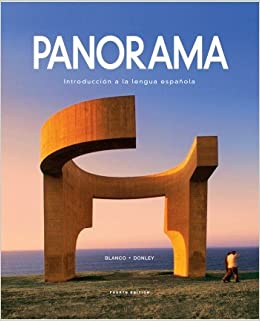 Panorama 4th edition student edition supersite code workbook panorama 4th edition student edition supersite code workbookvideo manual lab manual and answer key blanco donley 9781617677502 amazon books fandeluxe Choice Image