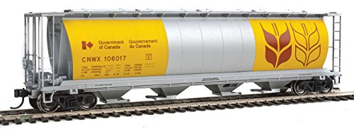 Walthers HO Scale 59' Cylindrical Covered Hopper Canadian Wheat Board (Scale Cylindrical Covered Hopper)