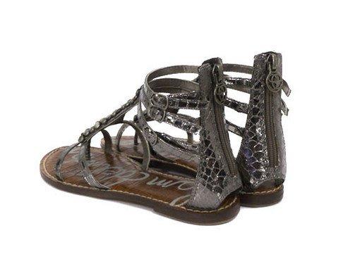 40890a19d717 Sam Edelman Ginger Pewter Sandals 7  Amazon.co.uk  Shoes   Bags