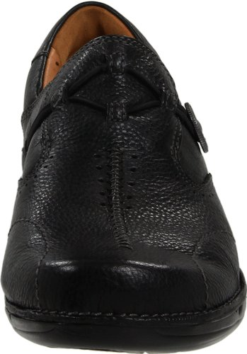 Clarks Womens Un.Maple Slip-On Loafer Black mvykPTFz