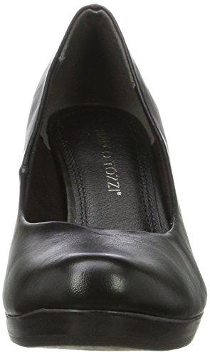 Marco Tozzi 22407, Zapatos de Tacón para Mujer Negro (Black Nappa)