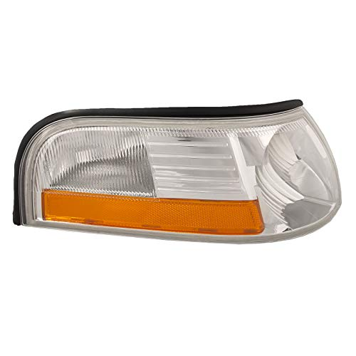 HEADLIGHTSDEPOT Compatible with Mercury Grand Marquis New Passenger Side Marker Light