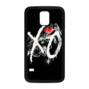 C-EUR Customized Print The Weeknd XO Hard Skin Case Compatible For Samsung Galaxy S5 I9600