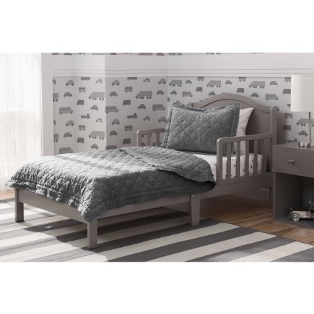 Delta Children Baker Toddler Bed, Grey by Delta (Image #1)