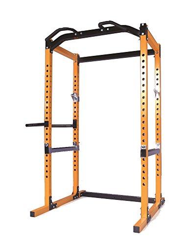 41nxuh7TWaL - Powertec Fitness Workbench Power Rack, Yellow