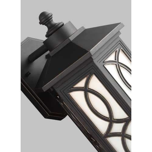 Sea Gull 8617091S-71 Ormsby Outdoor Pendant, 1-Light LED 14 Watts, Antique Bronze
