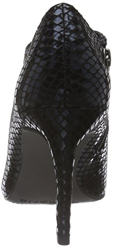 Tamaris 24405, Zapatos de Tacón para Mujer Negro (BLACK STRUCT. 006)