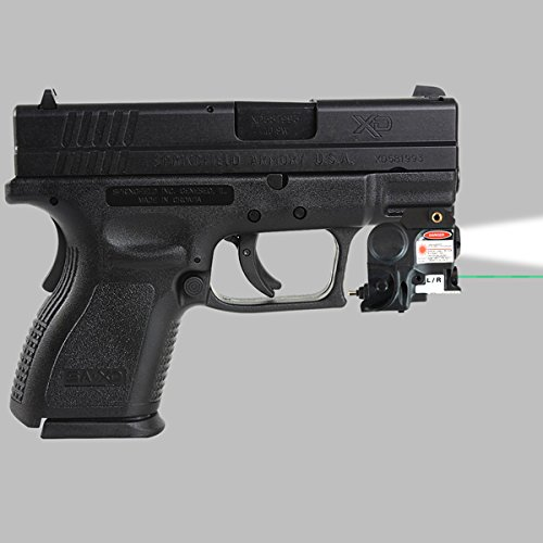 Hfire Subcompact Green Laser Sight Light Combo For Springfield Xd Xd