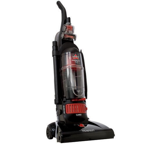 bissell powerforce turbo helix bagless upright vacuum, black/red ...