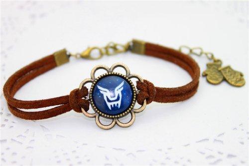 EXO Kpop Wristband bracelet Vintage style handmade item (do) (Plastic Vintage Bracelets)