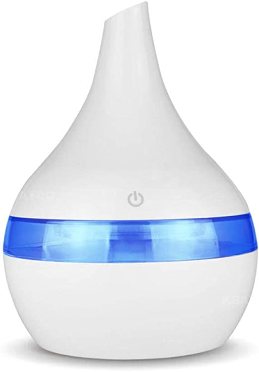 PRWJH Aroma Essential Oil Diffuser, Ultrasonic Cool Mist