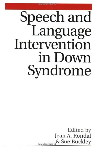 Speech and Language Intervention in Down Syndrome by Brand: Wiley
