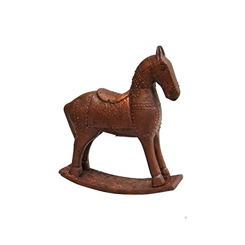 Antique Wooden Rocking Horse - 3