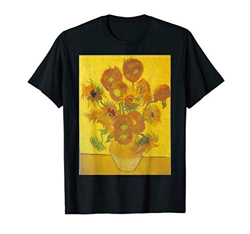 Sunflowers by Vincent Van Gogh T Shirt