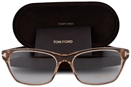 Tom Ford FT5405 Eyeglasses 54-15-140 Clear Shiny Brown 045 FT 5405 (Ford Tom Penelope)