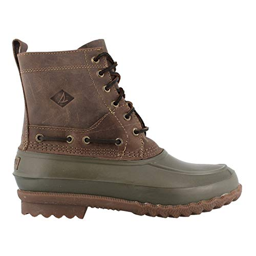 SPERRY Men's Decoy Boot Rain, Dark Green, 10.5 M US