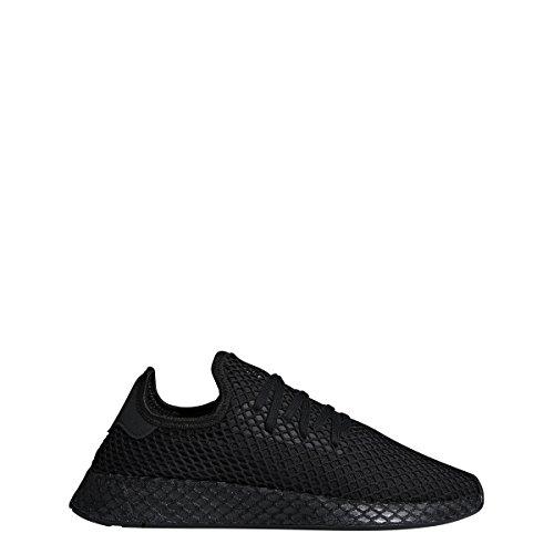 adidas Mens DEERUPT Runner Black/Black/White - B41768 (11.5) by adidas