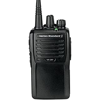 Discount Vertex Standard Original VX-261-D0-5 VHF 136-174 MHz Handheld Two-Way 5 Watts 16 Channels - 3 Year Warranty