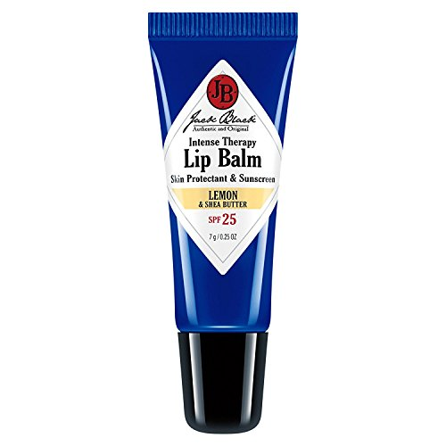 Jack Black Intense Therapy Lip Balm SPF 25, Lemon & Shea Butter