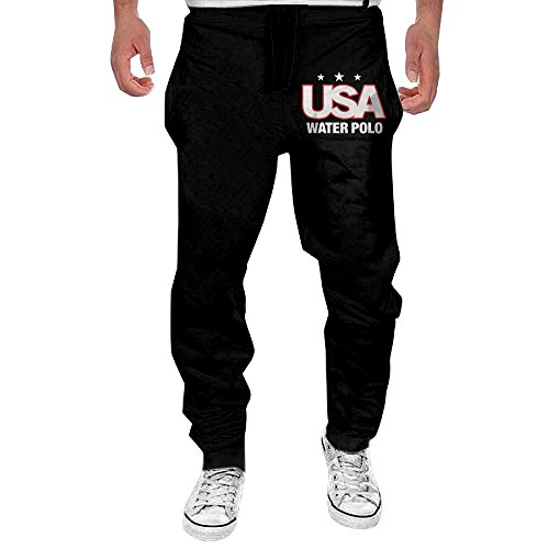 Mens Usa Water Polo Men's Casual Sweatpants Pants X-Large