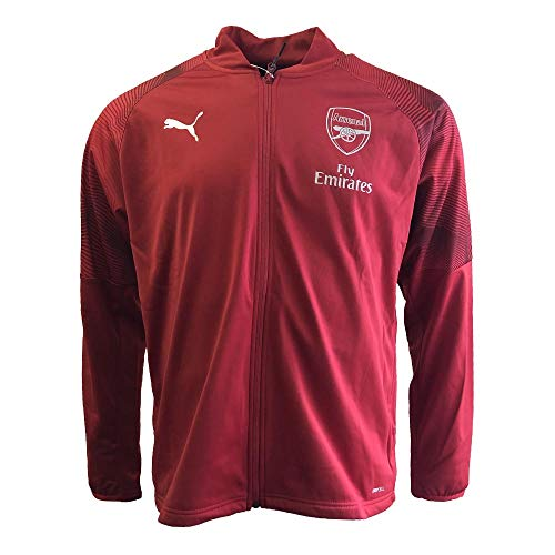 PUMA 2018-2019 Arsenal Stadium Jacket (Red) ()