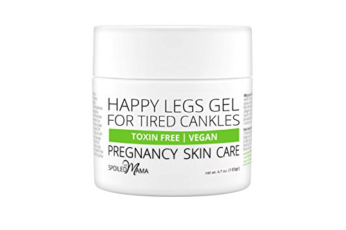 The Spoiled Mama Aloe & Cucumber Leg Gel for Swollen Legs & Feet (Swelling After C Section Feet And Legs)