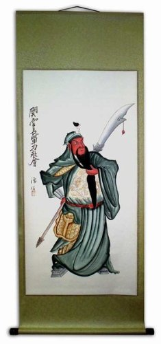 Large Hand Painting Chinese Scroll Art - Hand Painting Chinese Scroll Art