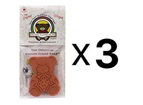 Go Party The Original Brown Sugar Bear Bun Warmers, Multi-pack of 3