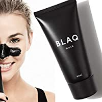 Blaq Peel Off Blackhead Removal Face Mask. 60 ML Tube, Deep Cleansing and Made With Charcoal. Powerful Alternative to boscia Masks