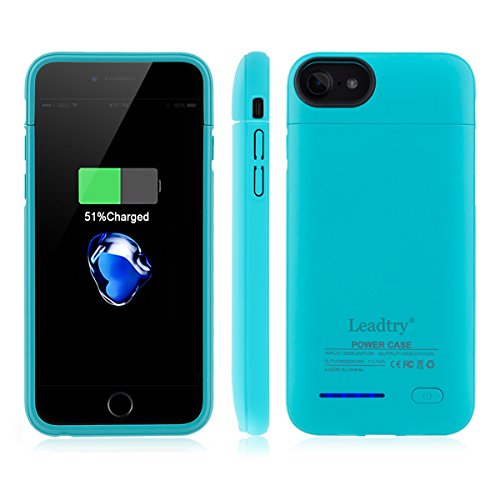 Iphone Portable Protective Rechargeable Blue