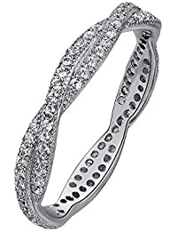 1//8 cttw, J-K, SI2-I1 Size-4.25 KATARINA Diamond Heart Ring in 10K White Gold