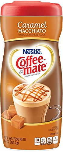 COFFEE MATE Caramel Macchiato Powder Coffee Creamer 15 oz. (Pack of 6)