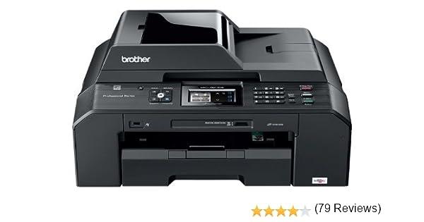Brother MFCJ5910DW - Impresora multifunción de Tinta Color (A3, 35 ppm, WiFi)